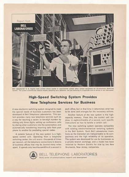 Bell Telephone Labs Electronic Switching System (1963)