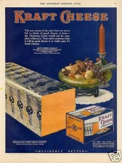Kraft Cheese Color (1925)