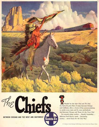Santa Fe System Line's Santa Fe Systems – The Chiefs (1949)