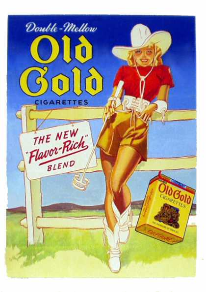 Old Gold – George Petty (1939)