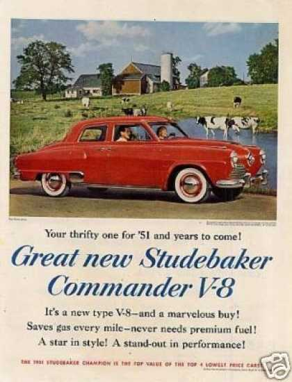 Studebaker Commander V-8 Car (1951)