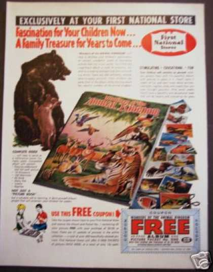 Original First National Stores Animal Book Offer (1964)