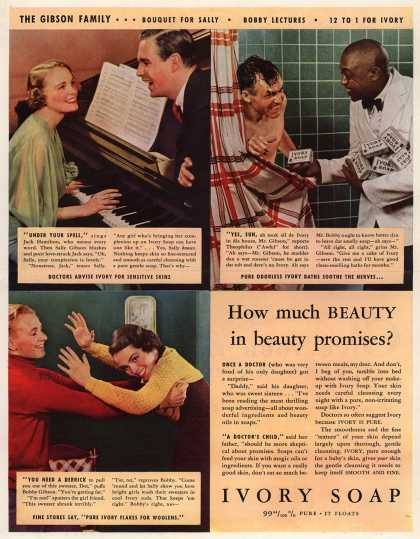 Procter & Gamble Co.'s Ivory Soap – How much BEAUTY in beauty promises? (1934)