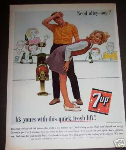 Original 7up Bowling Art (1963)