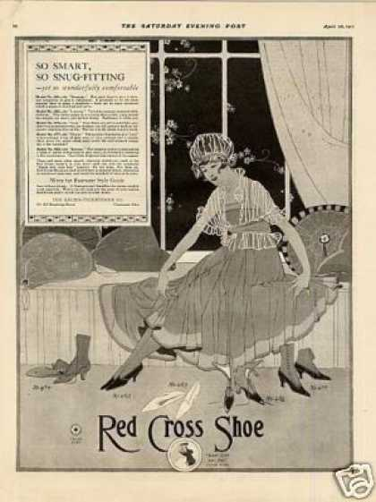 Red Cross Ladies Shoes (1917)