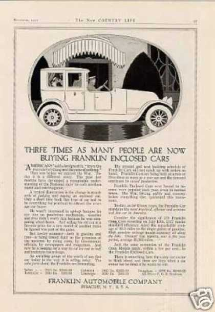 Franklin Car (1917)