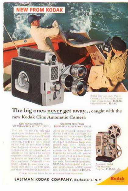 Kodak Camera – Cine Automatic Turret (1959)