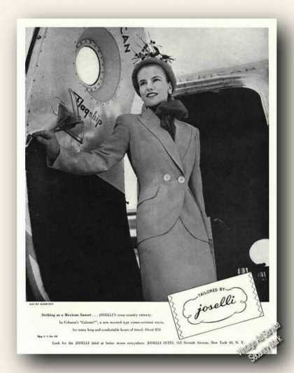 Joselli Womens Suit Photo Antique Fashion (1947)