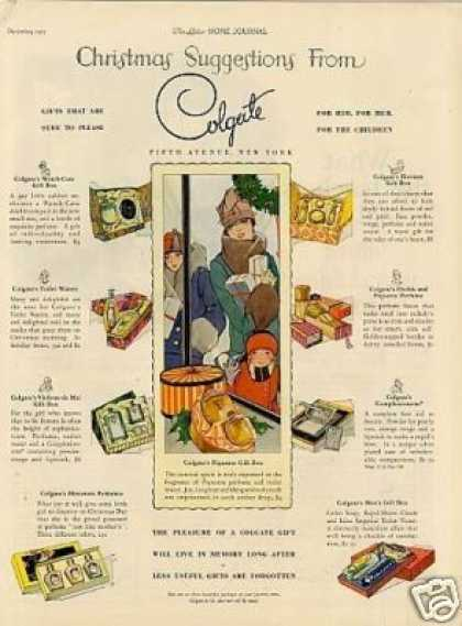 Colgate Fragrance Gift Sets (1925)