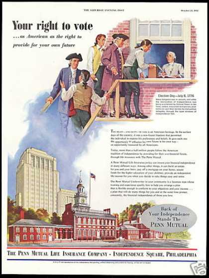 Right to Vote Penn Mutual Life Insurance (1952)