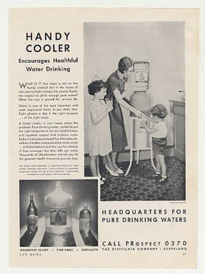 Distillata Pine Rock Water Cooler Photo (1931)
