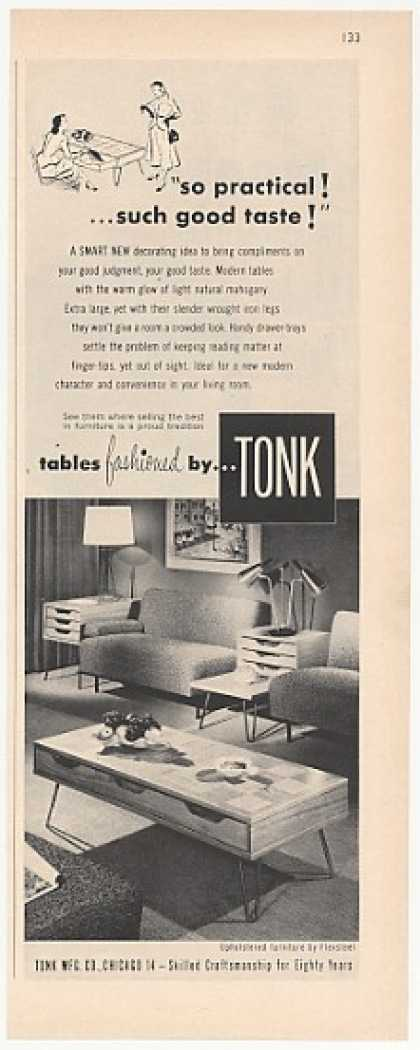 Tonk Coffee & End Tables Photo (1952)