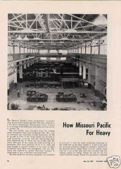 """How Missouri Pacific Converted Steam Shop For..."" (1952)"
