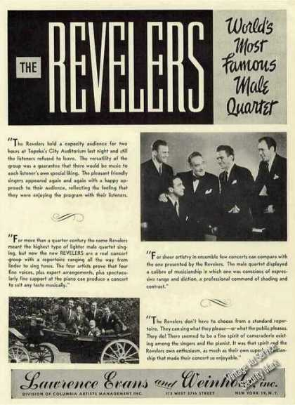 The Revelers Photos Male Quartet Trade (1951)