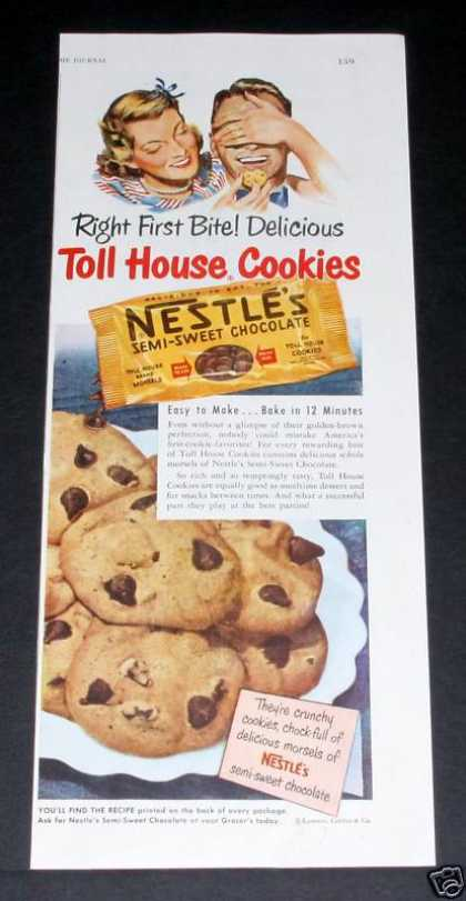 Nestles Toll House Cookies (1949)