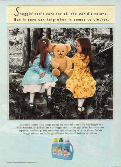 Lever Brothers Company – Snuggle the Bear (1998)