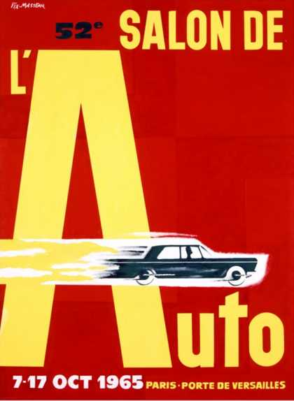 52nd Salon de l'Auto (1965)