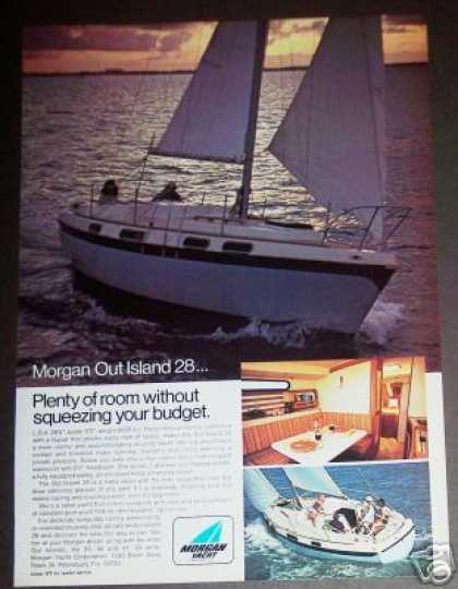 Morgan Out Island 28 Cruising Sailing Yacht (1973)