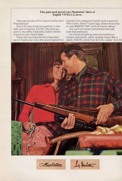 Manhattan Fashion Shirts Weatherby Rifle (1965)
