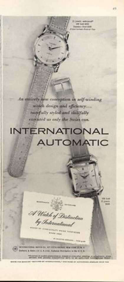 International Auto Watch (1952)
