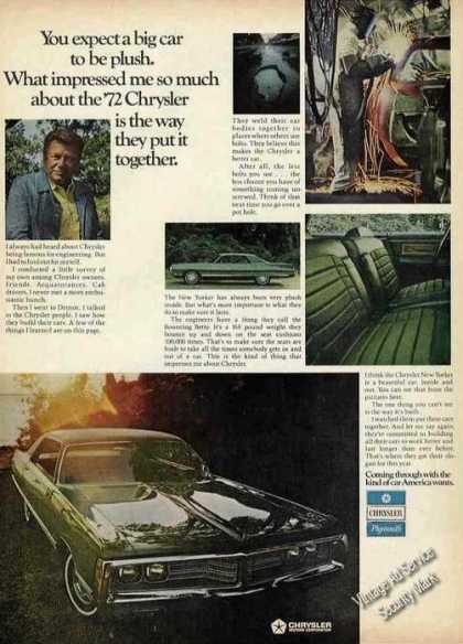 Chrysler Photos Arthur Godfrey (1972)