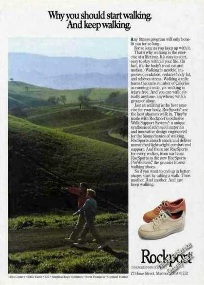 Rockport Rocsports Walking Shoes Nice (1986)