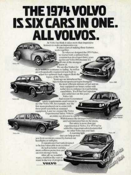"Volvo ""Is Six Cars In One"" Collectible (1974)"