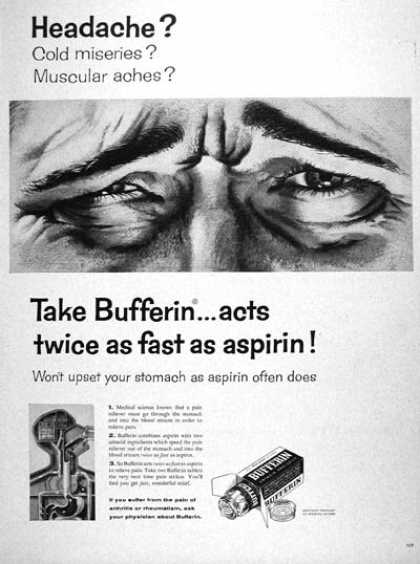 Bufferin Analgesic #1 (1957)