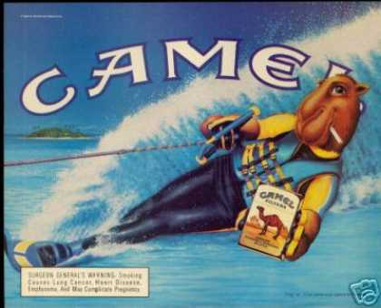 Joe Camel Cigarette Water Skiing (1990)