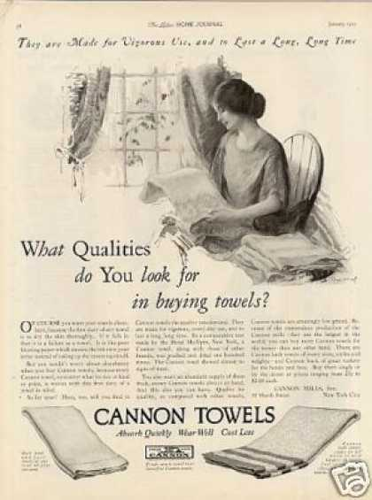 Cannon Towels (1925)