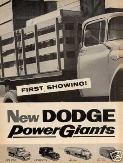 Dodge Truck Ad 2 Page (1956)