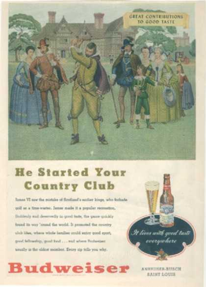 """He started your Country Club"" (1948)"
