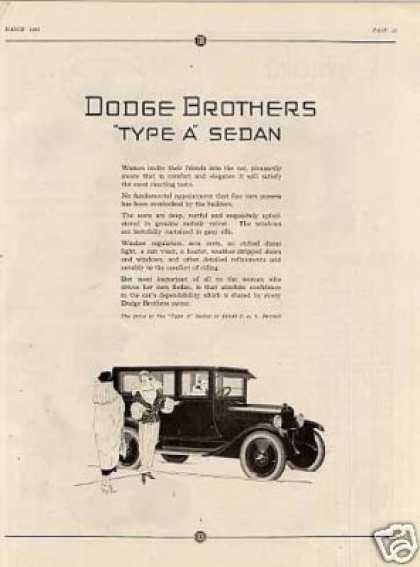 Dodge Brothers Type a Sedan (1923)