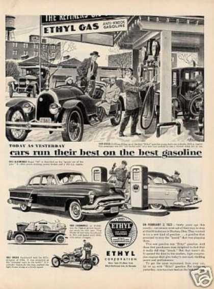 Ethyl Ad 1920 Kissel Car (1953)