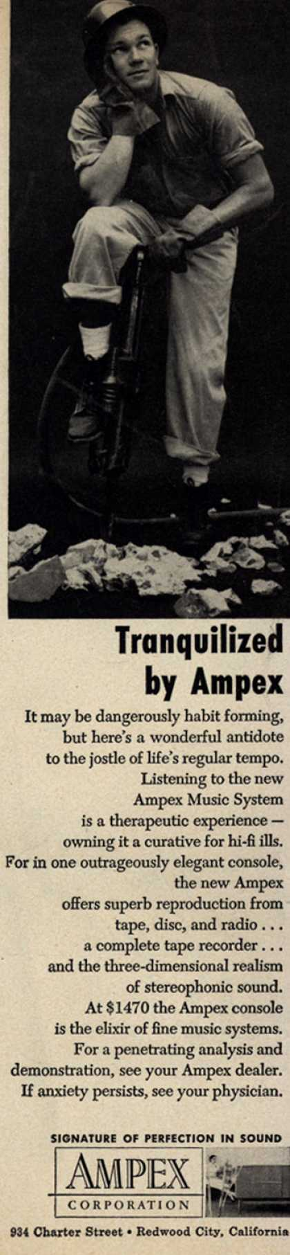 Ampex Corporation's Ampex Music System – Tranquilized by Ampex (1956)