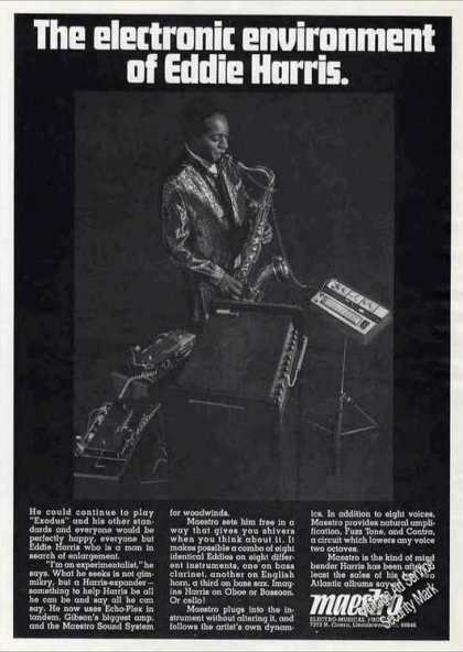 Eddie Harris Photo (saxophone) Maestro (1969)