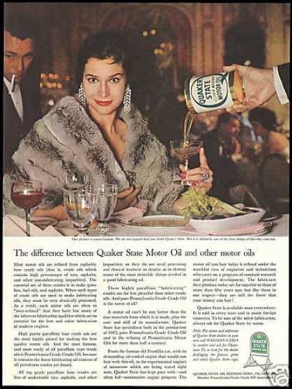 Quaker State Oil Fantasy Photo Pretty Woman (1960)
