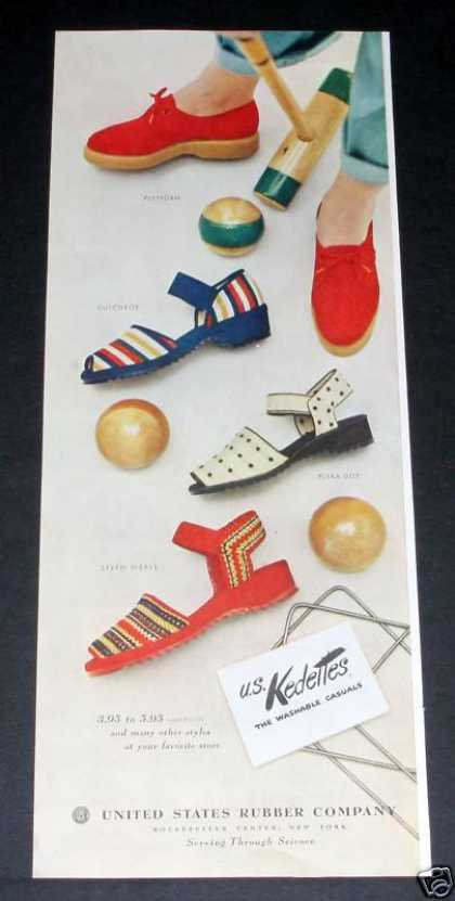 Keds, Kedettes Shoes, Croquet (1949)