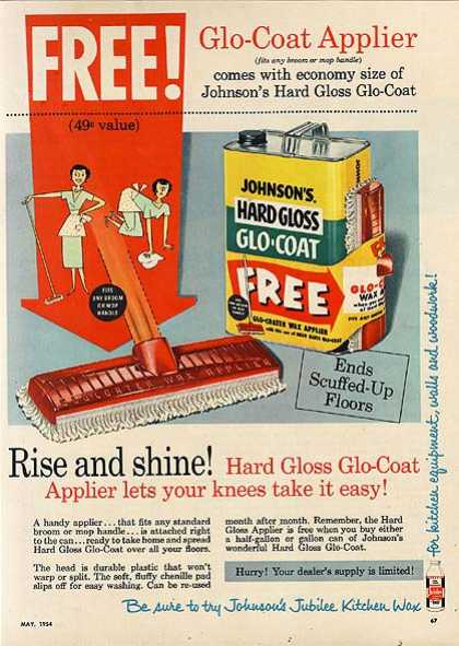 Johnson's Hard Gloss Glo-Coat (1954)