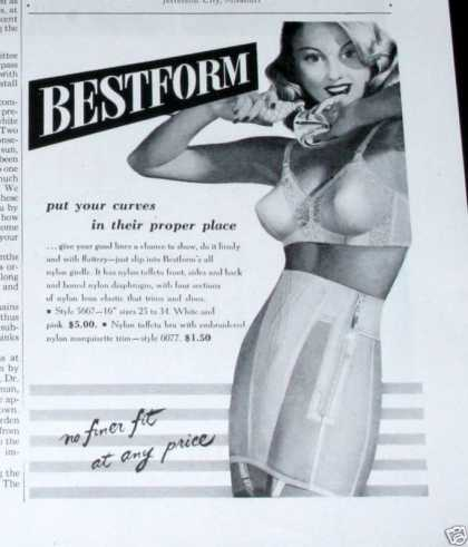 Bestform, Puts Curves In Place (1950)