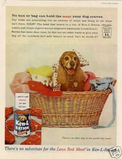Ken-l-ration Dog Food Ad Spaniel (1961)