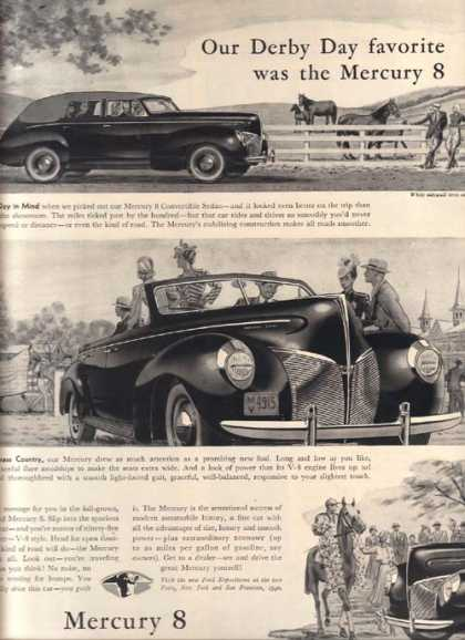 Ford's Mercury (1940)
