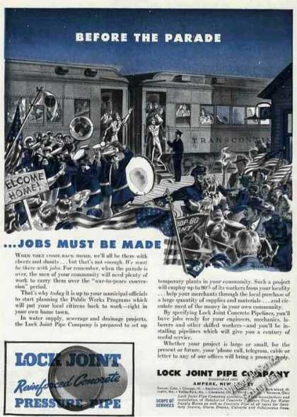 Before the Parade Jobs Wwii Lock-joint (1944)