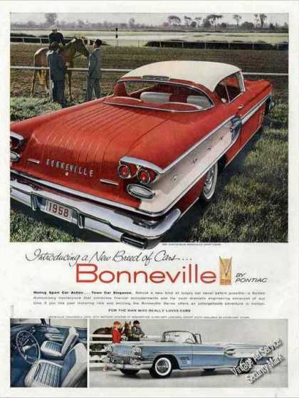 Pontiac Bonneville Impressive Large Photos (1958)