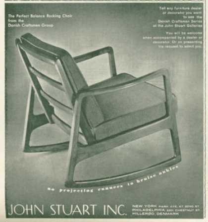 John Stuart Furniture Chair (1961)