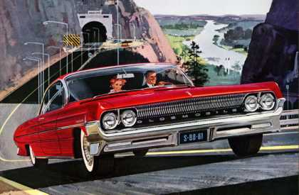 Skyrocket! Oldsmobile Super 88 (1961)