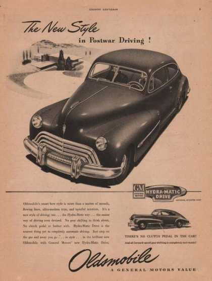 Oldsmobile Hydra Matic Drive Car (1946)