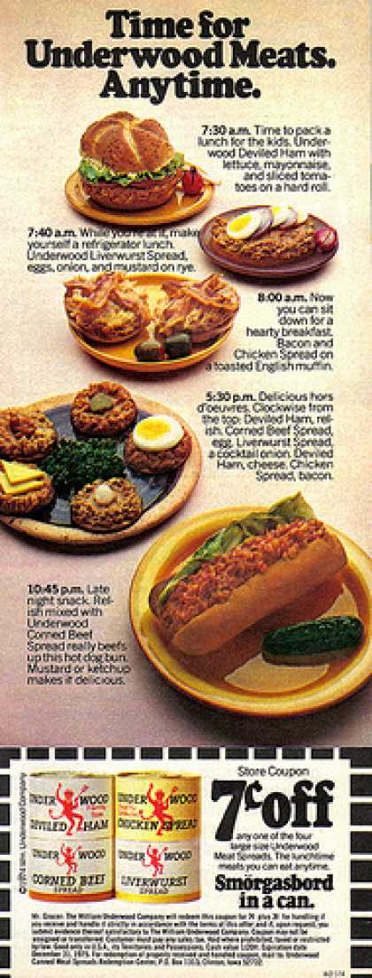 vintage food advertisements of the 1970s page 5