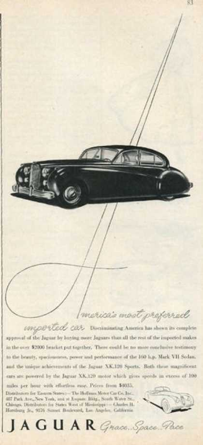 Jaguar Mark Vii Sedan (1952)