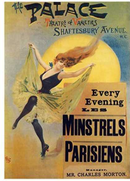 Les Minstrels Parisens &#8211; Palace Theatre Shaftesbury